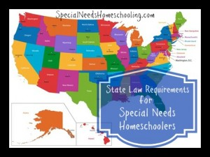 State Law Requirements for Special Needs Homeschooling