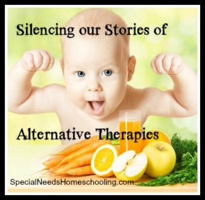 Silencing our Stories of Alternative Therapies