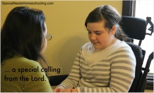 a special calling from the Lord