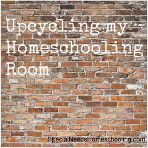 Upcycling my Homeschooling Room